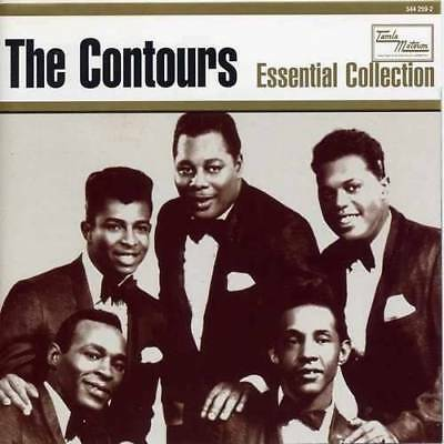THE CONTOURS Essential Collection NEW & SEALED SOUL MOTOWN CD (SPECTRUM) R&B