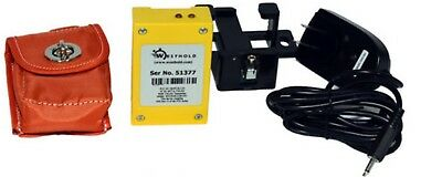 Westhold Transponder Rechargable Yellow With Personal Charger And Mounting Pouch