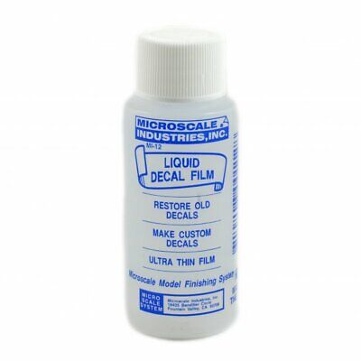 MicroScale Industries MicroScale Liquid Decal Film - Restores Old Decals