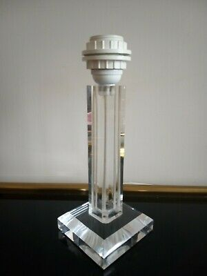 Vintage French Hollywood Regency Lucite Table Or Desk Lamp