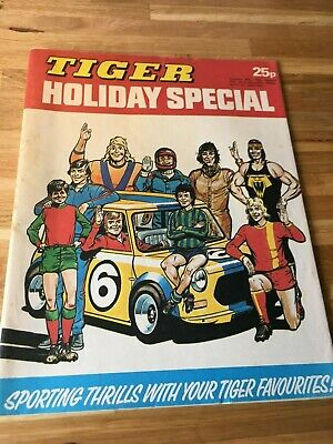 Tiger Holiday Special 1976 Roy of the Rovers Billys Boots Skid Solo Evel Knievel