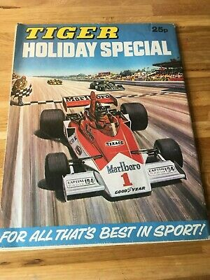 Tiger Holiday Special 1977 Roy of the Rovers Billys Boots Skid Solo James Hunt
