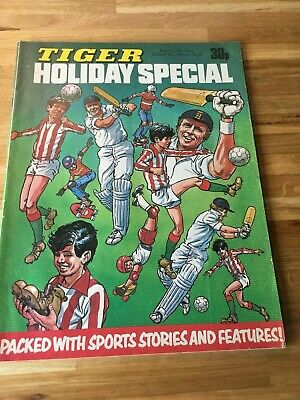 Tiger Holiday Special 1978 Roy of the Rovers Billys Boots Skid Solo Boycott