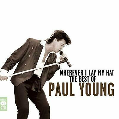 Paul Young - Wherever I Lay My Hat / The Best Of / Greatest Hits 2CD NEW/SEALED