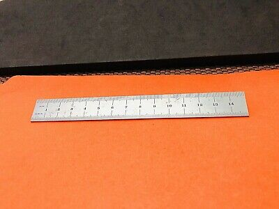 FOWLER No. 52-380-005 150MM Spring-Tempered Steel Rule With Millimeter Grad. USA
