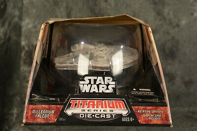 Hasbro Star Wars 2006 Titanium Series Millennium Falcon Large Sealed in Box