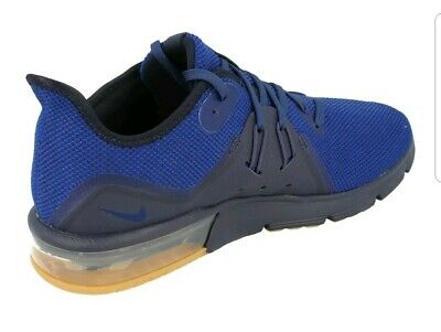 buy popular 7e545 24250 Nike Air Max Sequent 3 Mens Running Trainers 921694 Sneakers Shoes 405 size  8