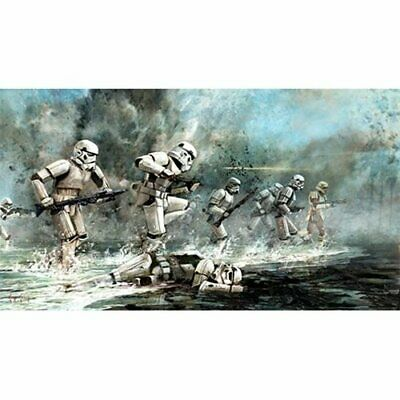 Star Wars ACME Lithograph Storming Troopers Cliff Cramp SIGNED Art Print NEW