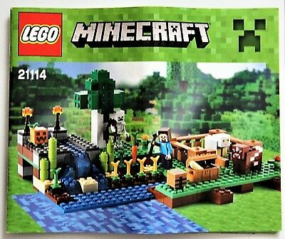 Lego Minecraft The Farm 21114 Complete W Instructions 2495