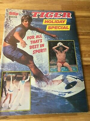 Tiger Holiday Special 1983 Roy of the Rovers Billys Boots Skid Solo Death Wish