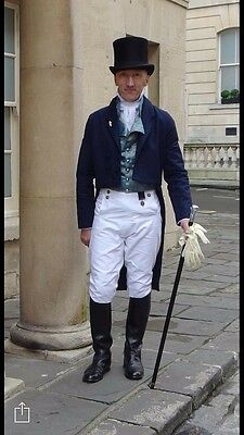 Regency Style Gentleman's Breeches Made To Order