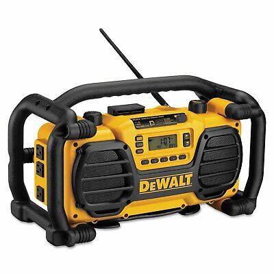 Dewalt DC012 Worksite Jobsite Portable Charger Radio Speaker w/ Aux Input