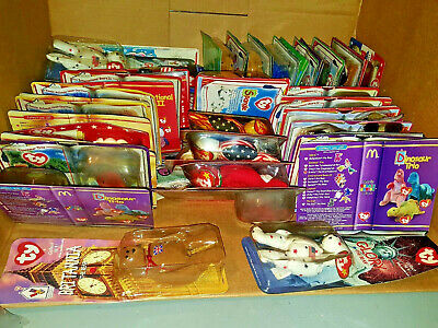 HUGE lot of 138 TY BEANIE BABIES FROM McDONALD'S  SEALED IN PACKAGES