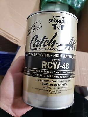 SPORLAN RCW-48 High Water Capacity Core - Filter Drier Core - Free Shipping