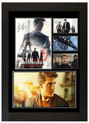 Mission Impossible Fallout - A3 Signed Framed Collectors Display Picture