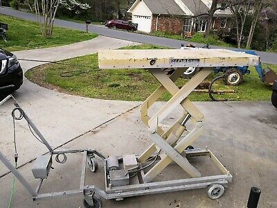 HYDRAULIC SCISSOR LIFT Table - $1,500 00 | PicClick