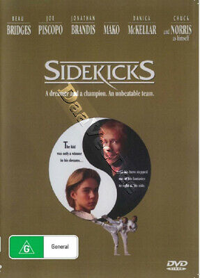 Sidekicks NEW PAL/NTSC Cult DVD Aaron Norris Beau Bridges