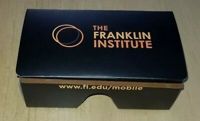 The Franklin Institute Experience Virtual Reality Box Collectible Box Rare Promo