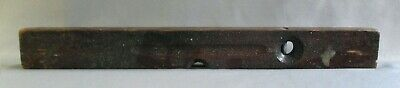 """Stanley 28"""" Carpenters Wood Brass Level No 0 Wood Working Tool Vintage"""