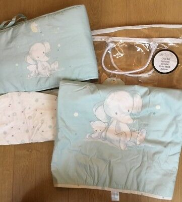 Mothercare Bizzi Growin Little Big Top Crib Set, Bumper, Coverlet & Fitted Sheet