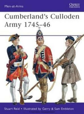 Osprey Men-at-Arms Cumberland's Culloden Army 1745-46 SC MINT