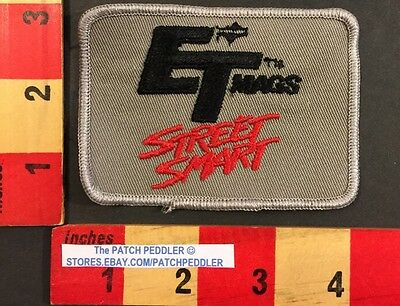 Gray - ET MAGS STREET SMART Advertising Patch Racing Car Wheels Rims 56AA