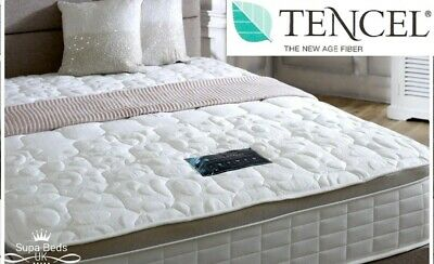 4FT6 Double Tencel Fabric Memory Foam Spring Mattress Luxury Pillow Top Mattress