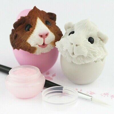 Easter Guinea Pig Figurine - Paint your own!