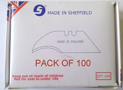 100 Concave Blades Fits Dolphin Delphin Tool Handle Made In Sheffield. Ind99A