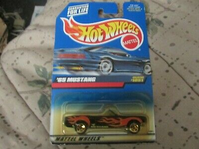 2000 Hot Wheels #201 1965 Ford Mustang /'00 crd
