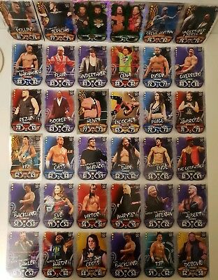 Wwe Topps Slam Attax Live Trading Cards Collectable Lot.
