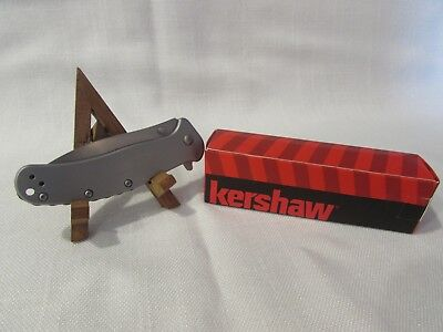 Kershaw Zing 1730SS Lock Blade Knife RJ Martin Design Subdued Coating NIB
