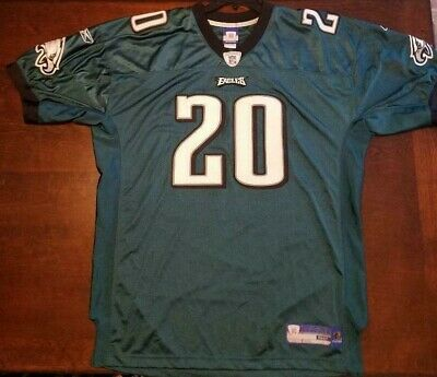 6a785b132 Philadelphia Eagles Brian Dawkins #20 Throwback Jersey Authentic Reebok  Replica
