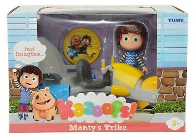 Kazoops Monty Trike with Imagination Token Figure Ages 3+ New Toy Bike Car Play