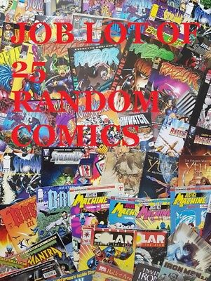 Job Lot Of 10 Comics Picked At Random Good Condition