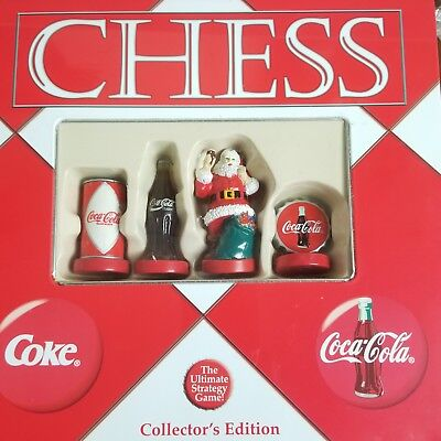 Coca Cola Chess Board Game In Tin Can Collectors Edition