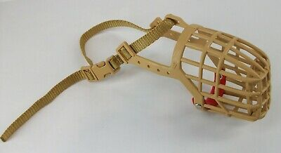 Animals Basket Muzzle Dogs Training Basket Size 4 Adjustable Made in Italy