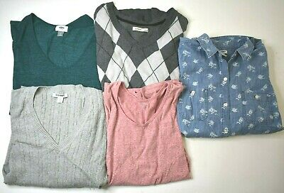 bae7549eac148 Lot of 5 Old Navy Men s Medium Various Styles T-Shirt Tops Sweater Shirt  Tank