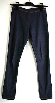 Faded Glory Youth Girls X-Large (14-16) Cotton Blend Jegging Leggings - Blue
