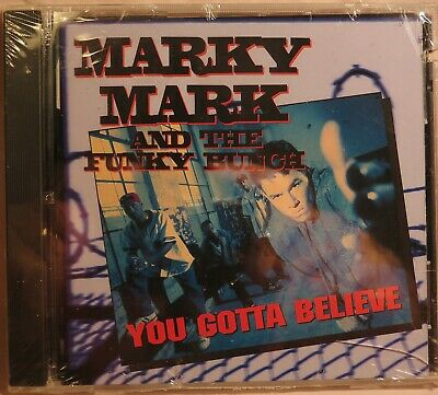 MARKY MARK & THE FUNKY BUNCH You Gotta Believe WAHLBERG 1992 HIP-HOP CD SEALED