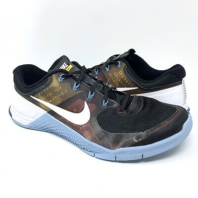 competitive price 004d3 3021c NIKE METCON 2 Men s Running Training CrossFit Shoes 819902-001 Black Blue  Sz 13