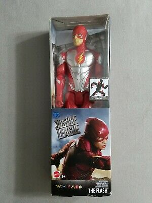 DC Justice League The Flash Metallic Armor 12inch Posable Action Figure