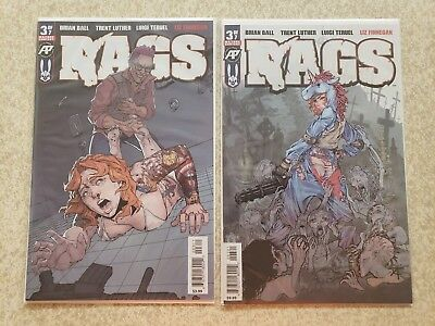 Rags #3 Cover A 1st Print + Cover B Exposed Variant