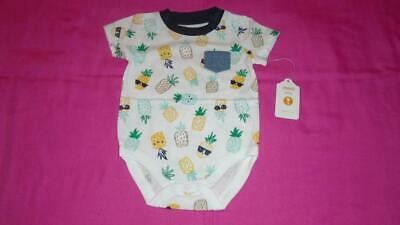 Gymboree Baby Boy 0-3 months Size Birds /& Dinos One-Piece Romper Outfit NWT NEW