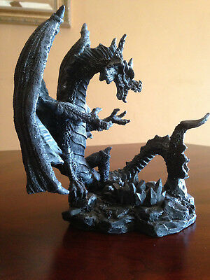 Medieval Dragon Tea Light Candle Holder with a Game of Thrones Like Intensity