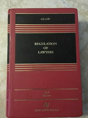 Gillers Regulation Of Lawyers Sixth edition ISBN 0735524548
