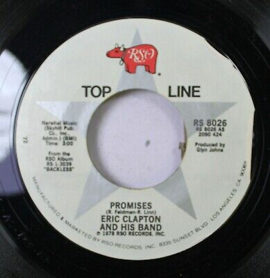 Rock Nm! 45 Eric Clapton And His Band - Promises / Cocaine On Rso
