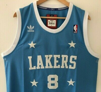 484f7d01020 Kobe Bryant Los Angeles Lakers Adidas Swingman Throwback Stitched Jersey NWT