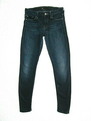 a8fb6e5a49fb Mother The Looker Dark Wash Super Stretchy Skinny Jeans Size 27 Used