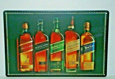 JWRS1 Johnnie Walker Metal Sign 20 cm H X 30 cm W New